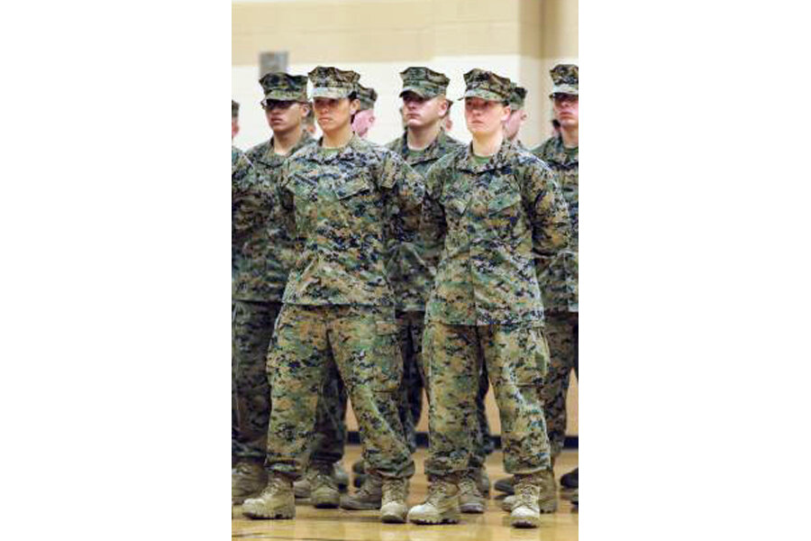 First female Marines pass infantry training – but no combat
