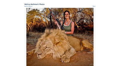 Melissa Bachman's African lion hunt draws anger