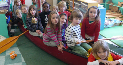 Paddling to the sea: the magic of imaginary play