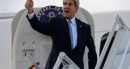 Iran deal this time? Kerry zips back to Geneva to 'help narrow' differences.