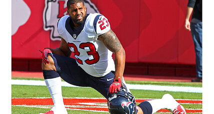Texans RB Foster becomes an IPO. More to follow on the 'jock exchange'?