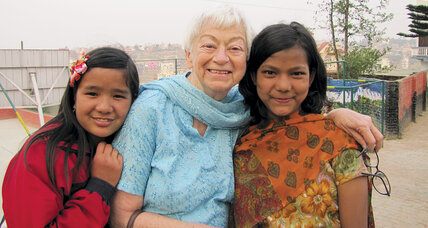Olga Murray found a second career educating the children of Nepal