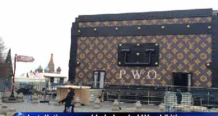 Move over, Lenin: Louis Vuitton 'trunk' occupies Red Square