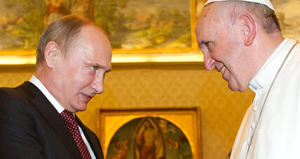 Putin and the pontiff: Not as odd a couple as you might think