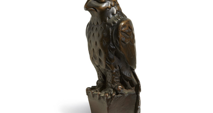 'Maltese Falcon' statue goes for $4M at auction