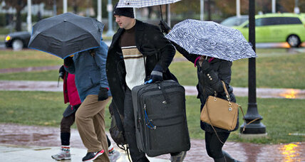 Thanksgiving storm travel disruptions: Not as bad as feared