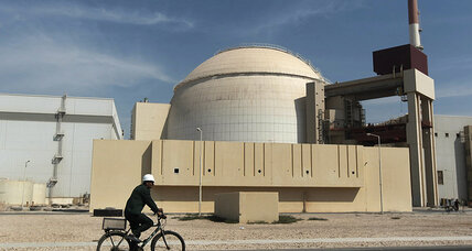 Iran earthquake did not damage nuclear reactor, officials say