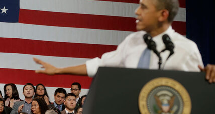 Why people feel free to heckle President Obama (+video)