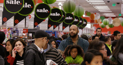 Black Friday 2013: Frenzied hordes of shoppers descend on retailers