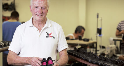 Sam Hawkins opened a shoe factory to give ex-cons a second chance