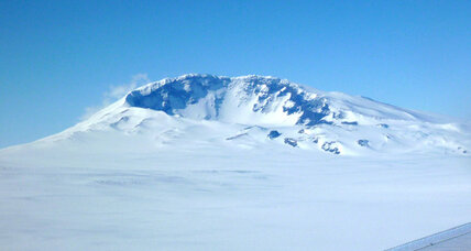 Active volcano found buried in Antarctica