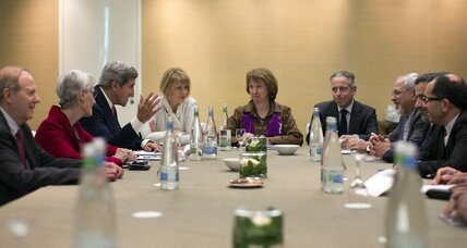 At Iran nuclear talks, put trust on the table