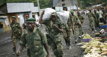 Congo M23 rebels surrender in Uganda, official says
