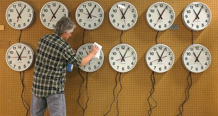 Rare Daylight Saving Time switch: An extra sleep hour with side of 'hybrid' eclipse
