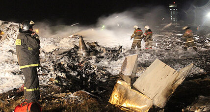 Boeing airliner crash kills 50 in Kazan, Russia