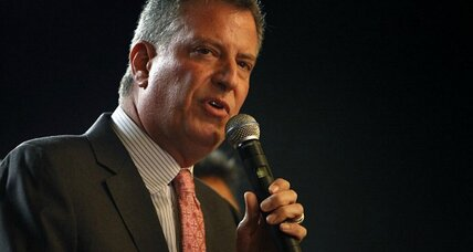 Unions love New York's new Mayor Bill de Blasio. But can he deliver? (+video)