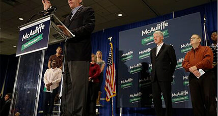 Election Day 2013: McAuliffe elected governor of Virginia (+video)