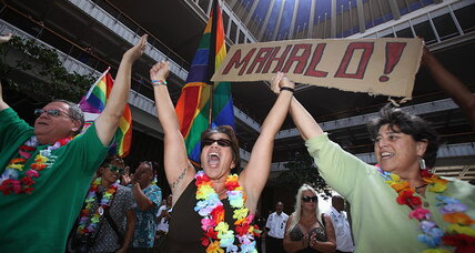 Gay marriage: With state Senate vote to legalize, Hawaii closes the circle