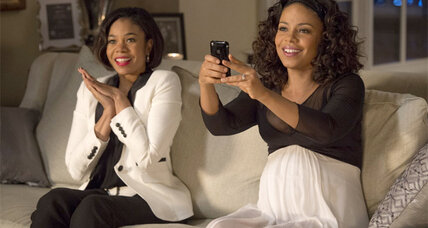 Sanaa Lathan, Morris Chestnut star in 'The Best Man Holiday'