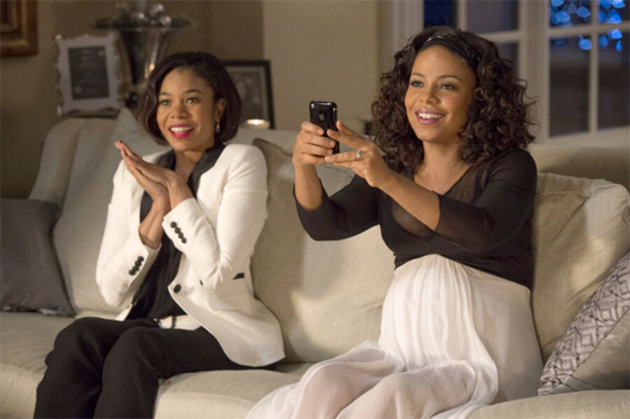 Sanaa Lathan Morris Chestnut Star In The Best Man Holiday