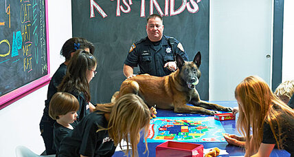 School safety: Use guard dogs, not guns?