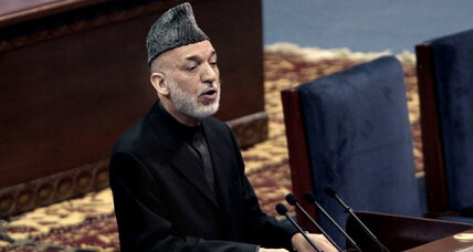 Karzai tells Afghan loya jirga that US not to be trusted