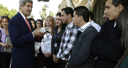 Can Kerry's visit halt the insults flying between Israeli and Palestinian leaders?