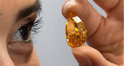 Orange diamond sells for $35 million. Next up: a $60 million pink diamond (+video)