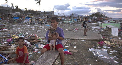 Typhoon Haiyan: Americans' interest and philanthropy flagging, Pew finds