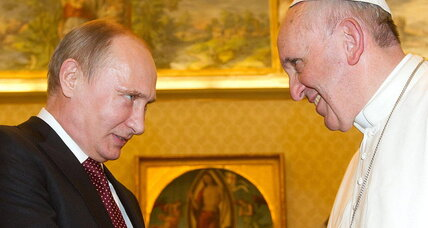 Pope-Putin visit: Is church détente in the works?