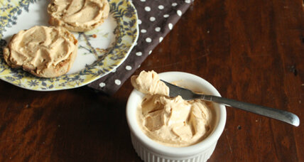Pumpkin maple cream cheese spread