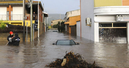 At least 18 dead as cyclone slams into Sardinia
