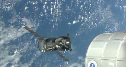 A traffic jam in space? Space station set to host nine astronauts.