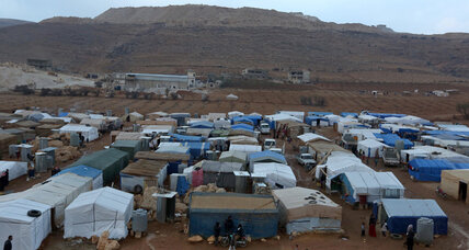 For Syrian refugees in Lebanon, mounting piles of debt (+video)