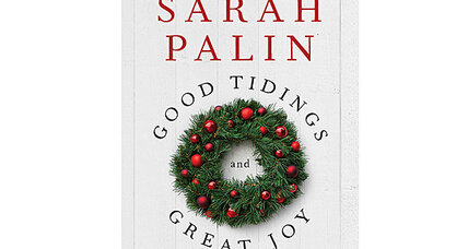 Sarah Palin campaigns for Christmas in new book