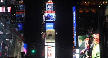 Astronauts to launch for ISS, seen live from Times Square