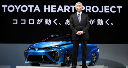 We will sell a fuel cell car by 2015: Toyota