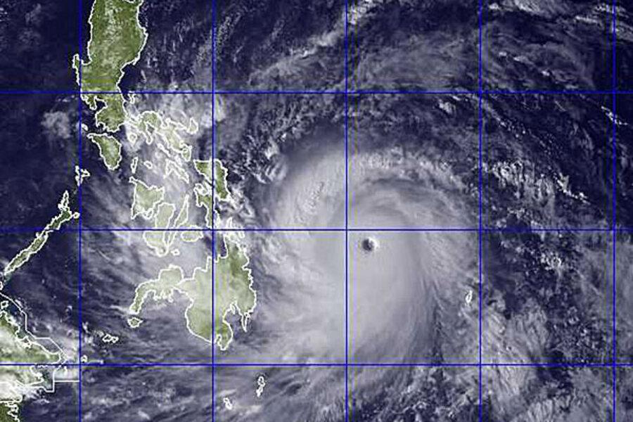 Typhoon Haiyan: the Philippines braces for mega storm - CSMonitor.com