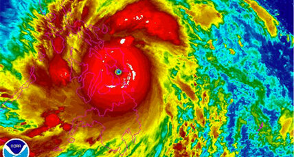 Philippines typhoon: Millions flee 'super-typhoon' Haiyan