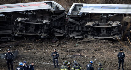 Clues sought to fatal train derailment in New York