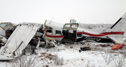 Young mom hailed hero in Alaska plane crash