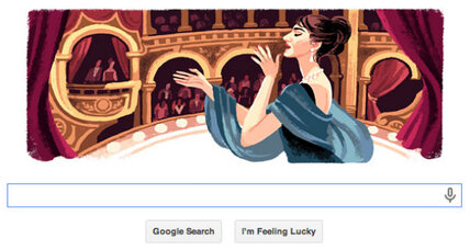 Maria Callas Google Doodle: The case against labeling our little divas (+video)