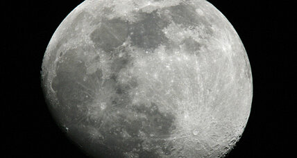 One small step for solar? Firm envisions solar panels on moon.