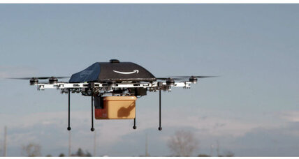 Jeff Bezos: Will Amazon 'Prime Air' drones deliver diapers?