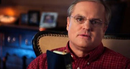 What's Sen. Mark Pryor doing with Bible in new campaign ad?