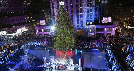 Rockefeller Center Christmas tree lighting dazzles millions
