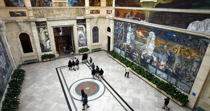 Detroit bankruptcy: Creditors eye city's art, but museum vows a fight