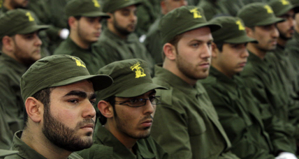 Look who's training: Hezbollah prepares for war