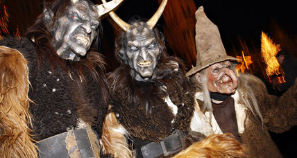 Is Krampus the Christmas demon becoming too commercial?