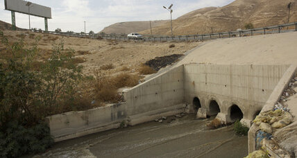 How sewage is bridging the Israeli-Palestinian divide in Jerusalem